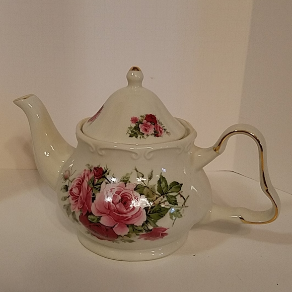 Formalities Dining Baum Brothers Formalities Victorian Rose Teapot Poshmark